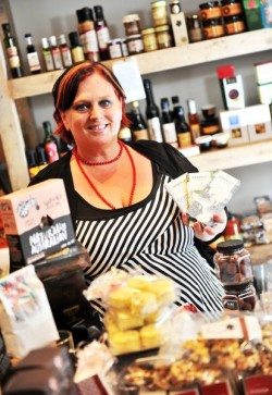 Kelly Lewis is the owner of Providorable Fine Food & Gifts store in Williamstown and winner of a council food safety award.114765_01
