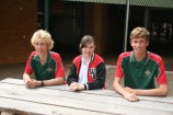 Reef Christiansen, Aimee Caulfield and Josh Hegarty are three of many students who are doing their bit to help others.